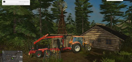 Карты для Карта Southern Norway для Farming Simulator 2015