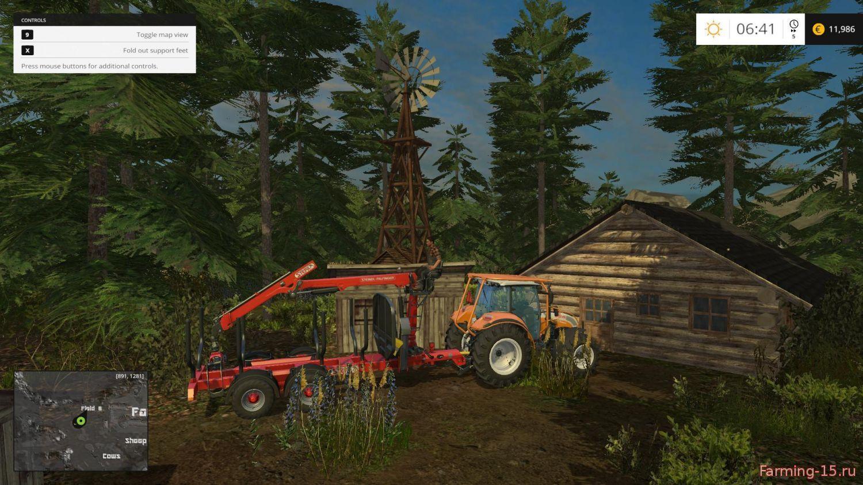 Карты для Карта Southern Norway для Farming Simulator 2015