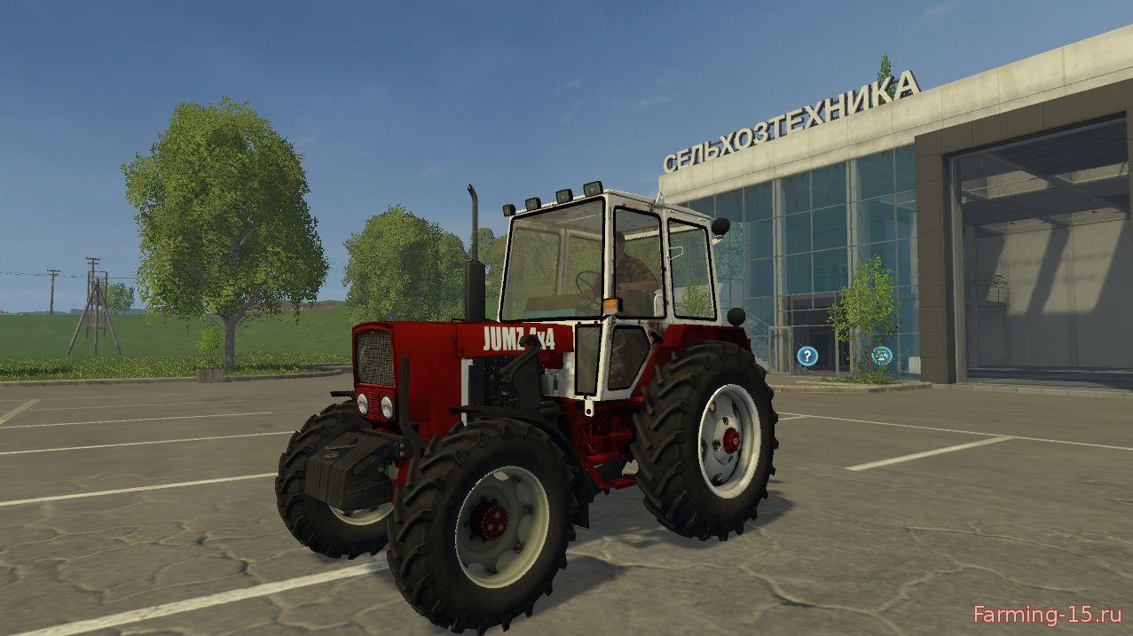 Русская техника для Мод трактор ЮМЗ 4×4 v 1.0 для Farming Simulator 2015