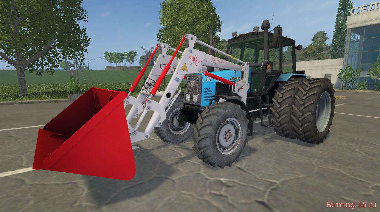 Русская техника для Мод трактор Беларус 1221 ПНБ-1200 для Farming Simulator 2015