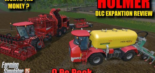 Техника для удобрений для DLC Holmer Pack для Farming Simulator 2015