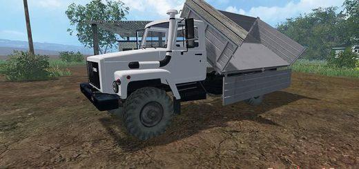 Русская техника для Мод грузовик ГАЗ 3308 v4.0 для Farming Simulator 2015