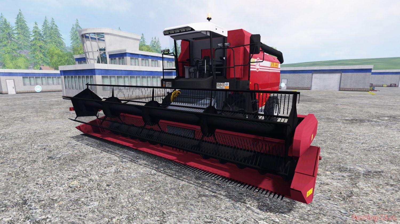 Русская техника для Мод комбайн Палессе ГС12 v1.1 для Farming Simulator 2015