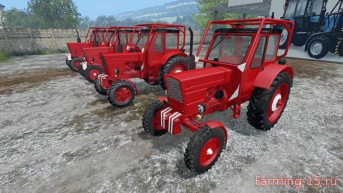 Русская техника для Мод-пак тракторов МТЗ-50 и МТЗ-52 для Farming Simulator 2015