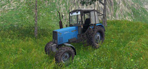 Русская техника для Мод трактор МТЗ 892 для Farming Simulator 2015