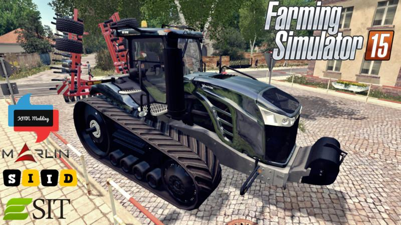 Тракторы для Мод трактор Cat Challenger MT875E для Farming Simulator 2015