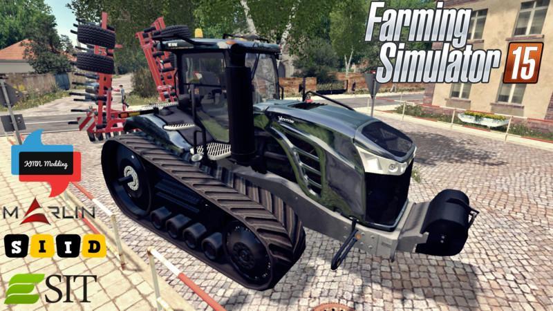 Тракторы для Мод трактор Cat Challenger MT875E для Farming Simulator 2015