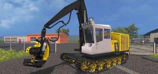 Лесозагатовка для Мод машина для лесозаготовки для Farming Simulator 2015