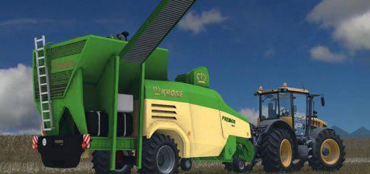 С/Х инвентарь для Мод Krone Premos 5000 для Farming Simulator 2015