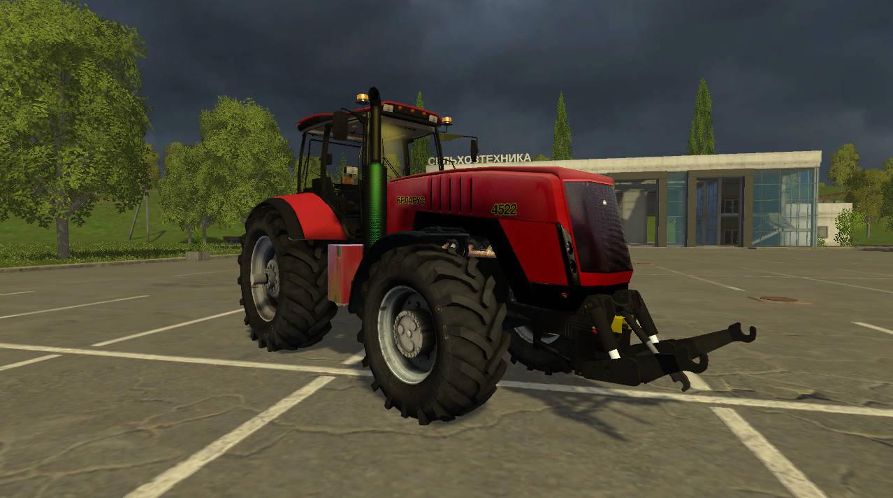 Русская техника для Мод трактор «Беларус 4522 v1.4» для Farming Simulator 2015