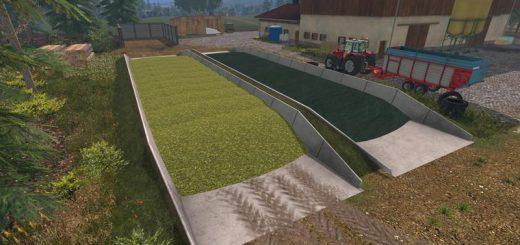 Объекты для карт для Мод силосные ямы для Farming Simulator 2015