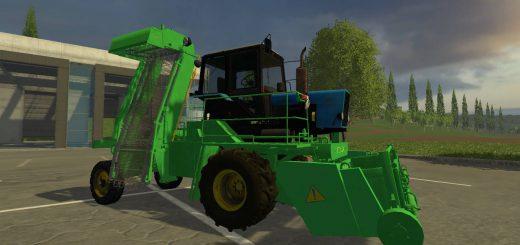 Русская техника для Мод погрузчик свеклы «СПС 4.2 А» для Farming Simulator 2015