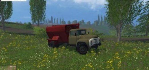 Русская техника для Мод грузовик ЗИЛ 130 ЗСК v 1.0 для Farming Simulator 2015