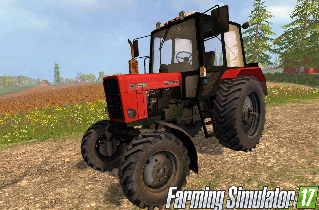 Русская техника для игры мод Мод трактор МТЗ для Farming Simulator 2017