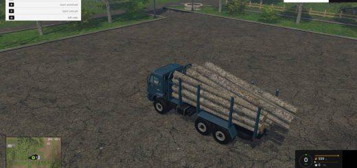 Русская техника для Мод грузовик КамАЗ 44118 «Лесной» для Farming Simulator 2015