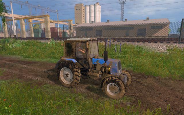 Русская техника для Мод трактор МТЗ-892 v 2.0 для Farming Simulator 2015
