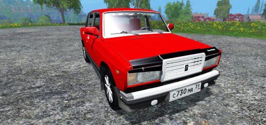 Русская техника для Мод машина ВАЗ-2107 для Farming Simulator 2015