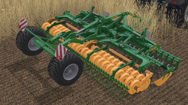 С/Х инвентарь для Мод культиватор Amazone Catros 6001 для Farming Simulator 2015