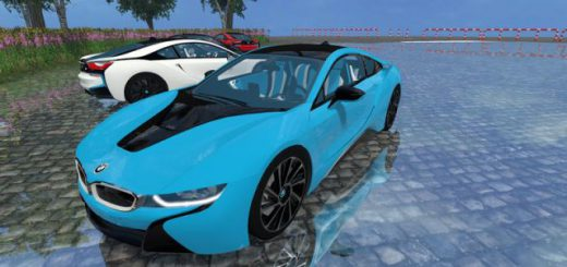 Машины для Мод-пак машин «BMW i8 eDRIVE v 1.7» для Farming Simulator 2015