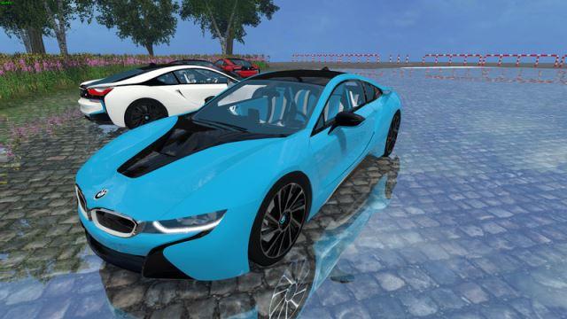 Машины для Мод-пак машин «BMW i8 eDRIVE v 1.7» для Farming Simulator 2015