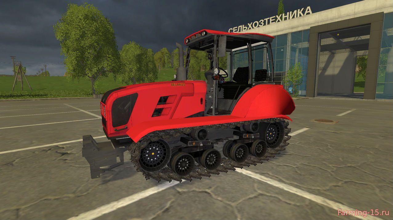 Русская техника для Мод гусеничный трактор Беларус v1.0 для Farming Simulator 2015