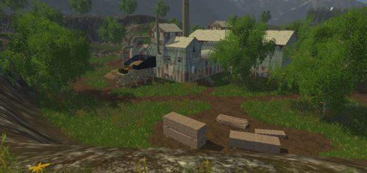 Русские карты для Русская карта «Комлюко v 1.0» для Farming Simulator 2015