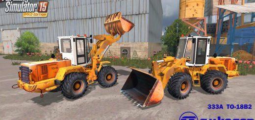 Погрузчики для Мод погрузчик Амкодор 333A ТO-18 Б2 для Farming Simulator 2015