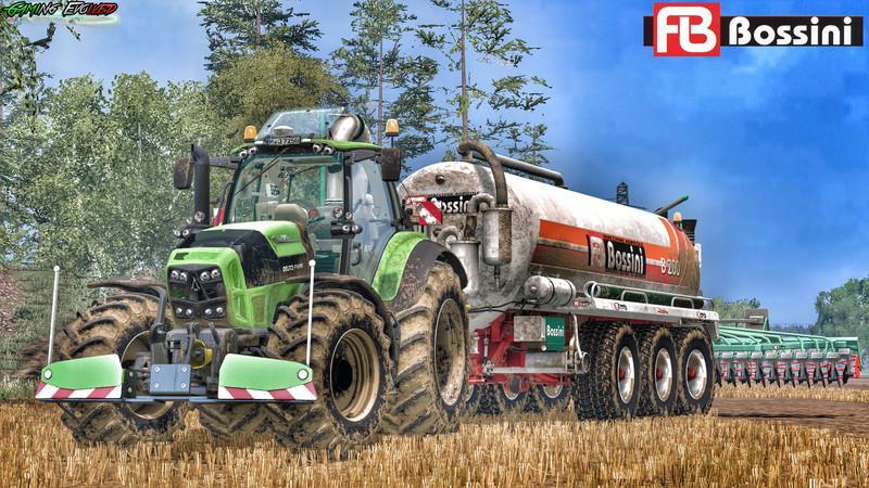 Тракторы для Мод-пак тракторов Deutz Fahr TTV 7250 v5.0 для Farming Simulator 2015