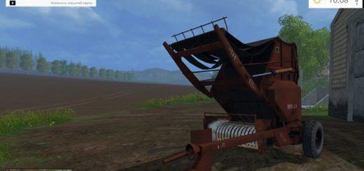 Тюкопрессы для Мод пресс подборщика ПРП-1.6 для Farming Simulator 2015