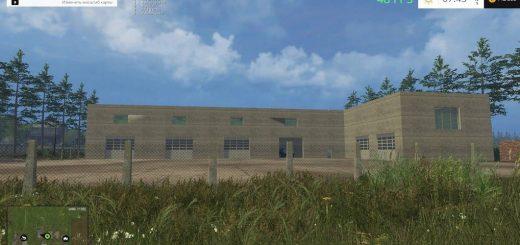 Объекты для карт для Мод «Большой Гараж» для Farming Simulator 2015