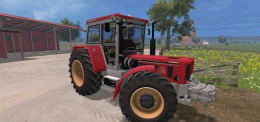Тракторы для Мод трактор «Schlüter Super 1500 TVL» для Farming Simulator 2015