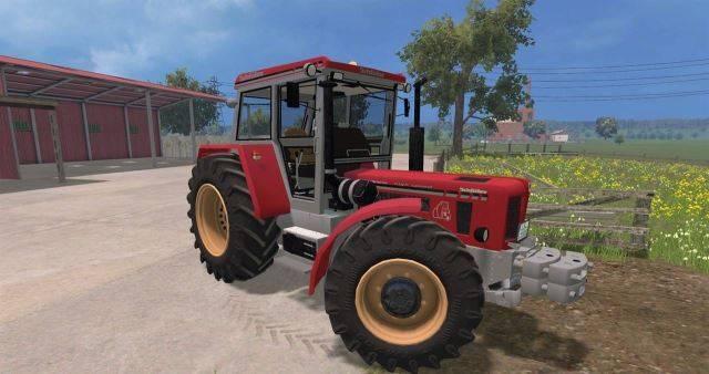 Тракторы для Мод трактор «Schlüter Super 1500 TVL» для Farming Simulator 2015
