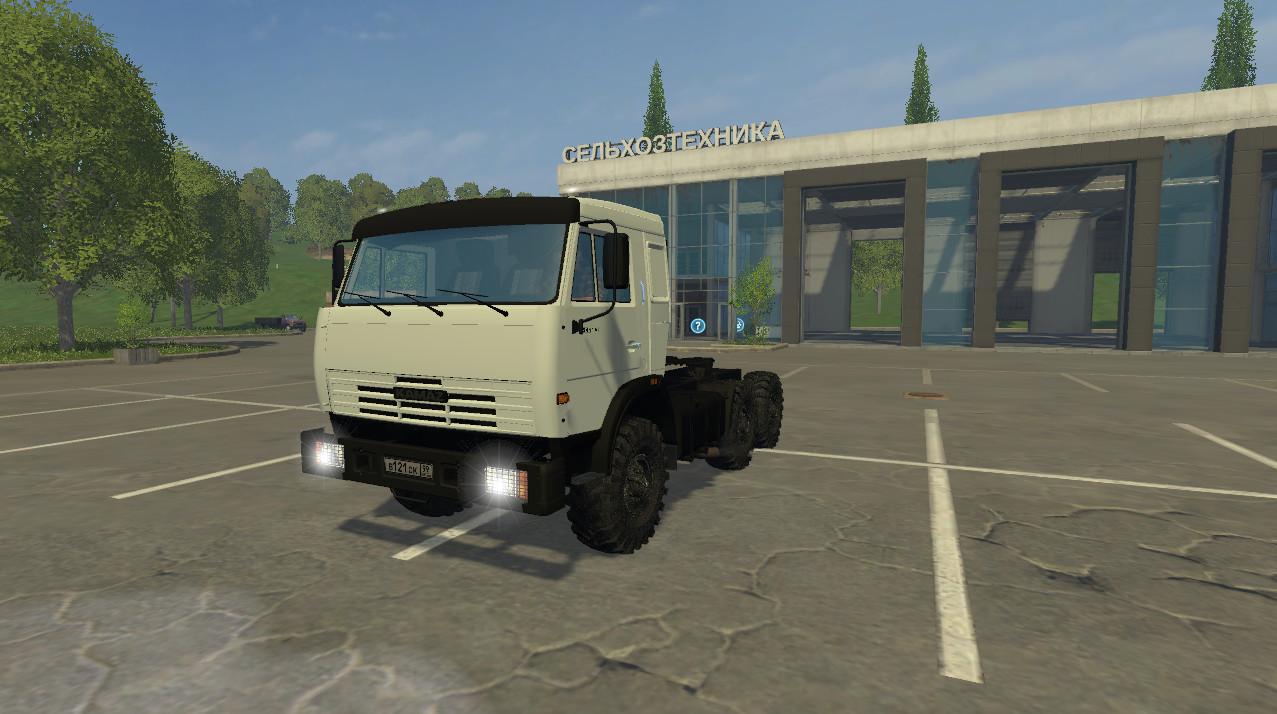 Русская техника для Мод грузовик КамАЗ 2588 для Farming Simulator 2015