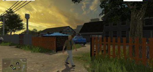 Карты для Карта село Полевое v 0.1 для Farming Simulator 2015