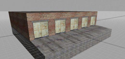Объекты для карт для Мод большой гараж для Farming Simulator 2015