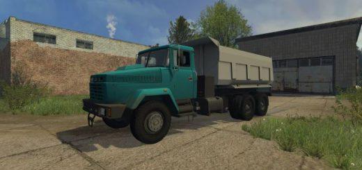 Русская техника для Мод грузовик «КрАЗ-65032 самосвал v 1.0» для Farming Simulator 2015