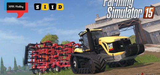 Тракторы для Мод гусеничный трактор Cat Challenger MT865B v 1.3 для Farming Simulator 2015
