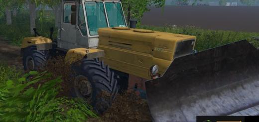 Русская техника для Мод трактор Т-150к Бульдозер для Farming Simulator 2015