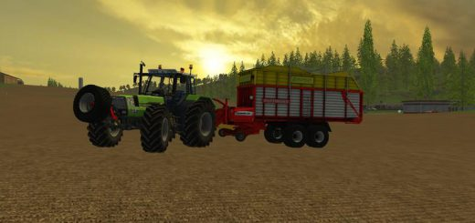 Прицепы для Мод прицеп-подборщик Poettinger Europrofi 5000 v 1.0 для Farming Simulator 2015