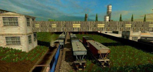 Русские карты для Русская карта Перестройка 1986 для Farming Simulator 2015