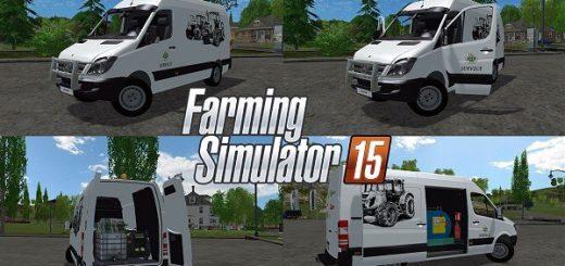 Машины для Мод автомобиля Mercedes Sprinter для Farming Simulator 2015