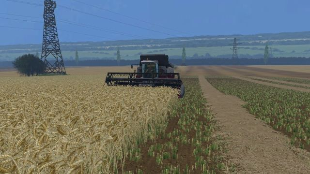 Карты для Мод карта Полтавская долина v 2.0 для Farming Simulator 2015
