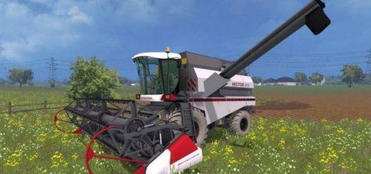 Русская техника для Мод комбайн Ростсельмаш Вектор 410 для Farming Simulator 2015