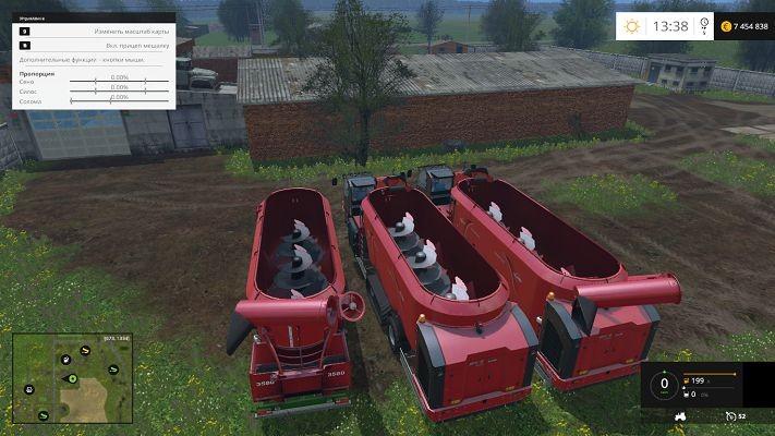 Комбайны для Мод пак комбайнов Kuhn SPV Goliath v 1.0 для Farming Simulator 2015