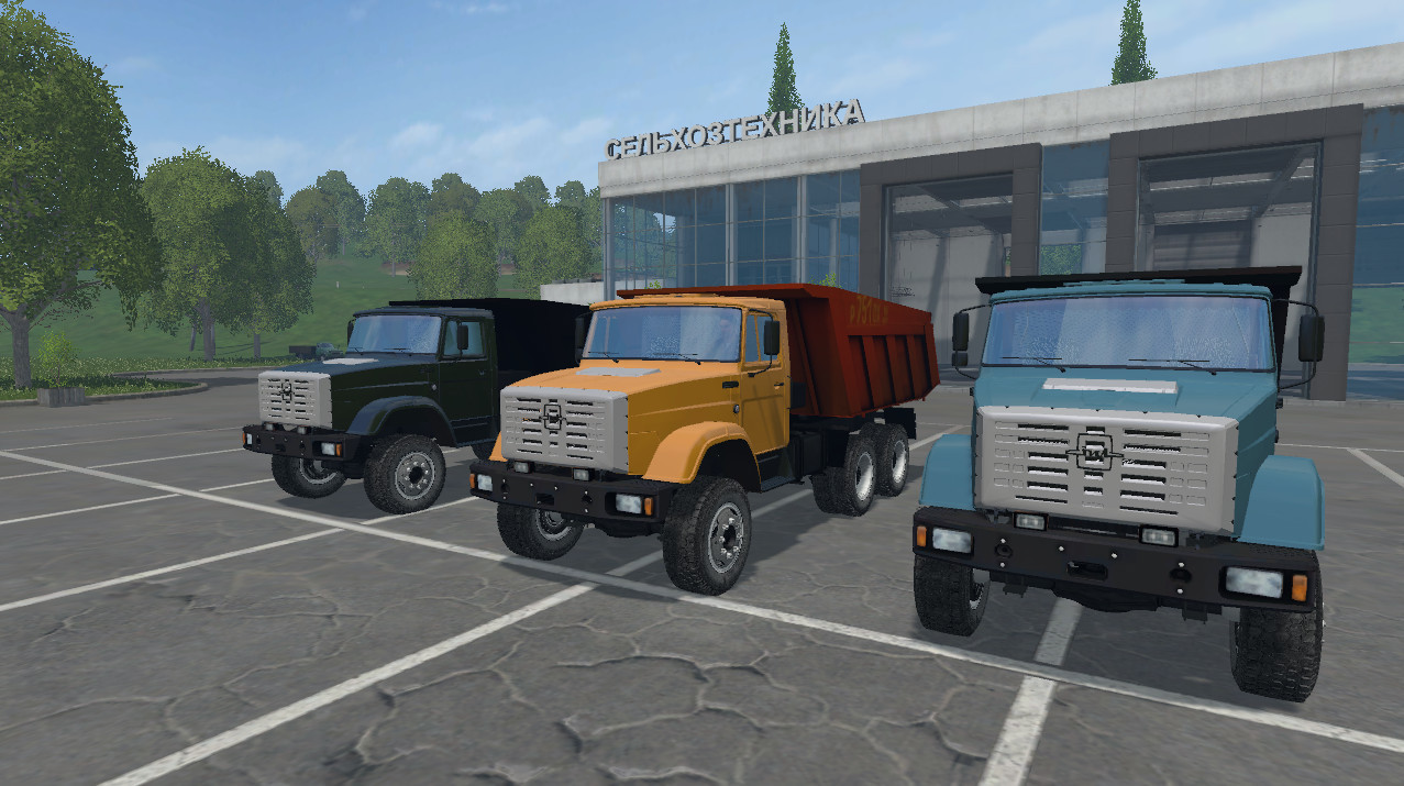 Русская техника для Мод грузовик «ЗиЛ 4520 ММЗ v3.0» для Farming Simulator 2015