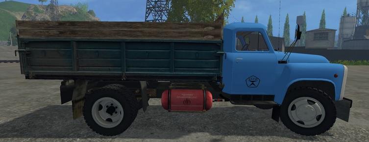 Русская техника для Мод грузовик ГАЗ-53 v2.0 для Farming Simulator 2015