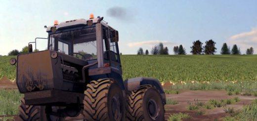 Русская техника для Мод трактор ХтЗ Т-150 09 25 v 3.0 для Farming Simulator 2015