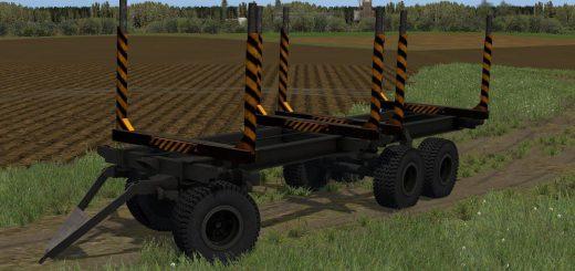 Прицепы для Мод прицеп «ПТС-12 ЛЕСОВОЗ» для Farming Simulator 2015