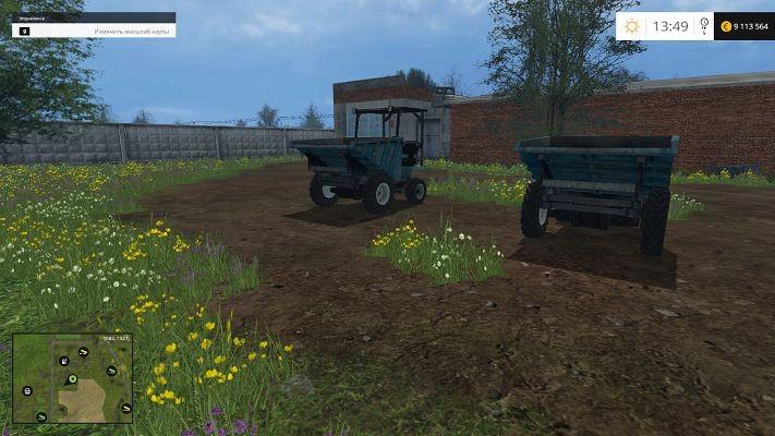 Погрузчики для Мод погрузчика Mini Dumper v 1.0 для Farming Simulator 2015