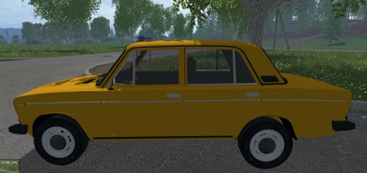 Русская техника для Мод машина ВАЗ-2106 «Шестерка» для Farming Simulator 2015